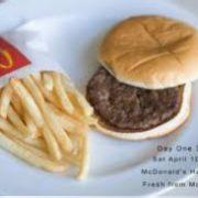 Dos años sin pudrirse. ¿ Es esa vida para una hamburguesa ?